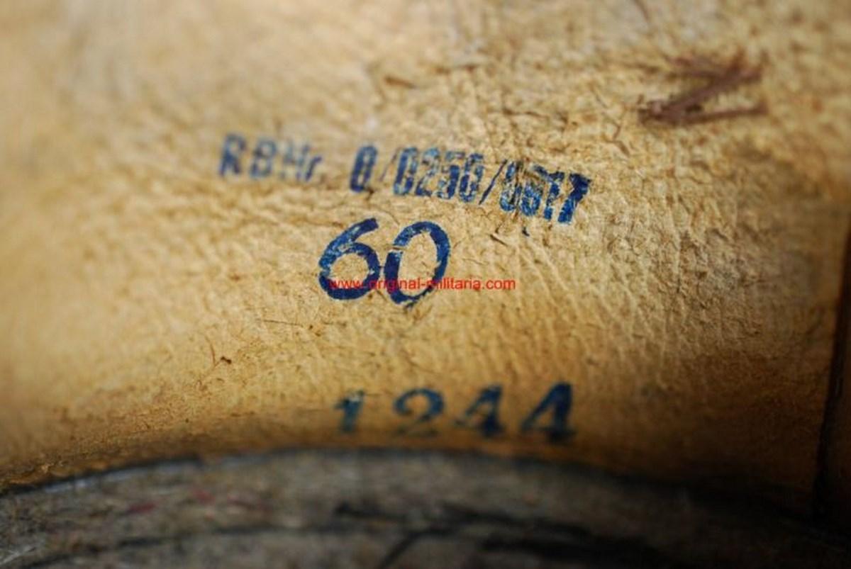 WH/ Casco M1936/38 de Parada de Oficial, Talla 60